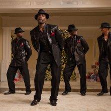 The Best Man Holiday: coreografia di ballo tutta al maschile in una scena