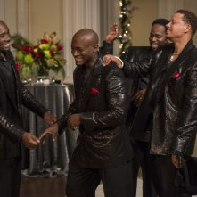 Risate e goliardia in una scena di The Best Man Holiday
