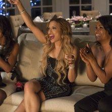 Nia Long con Monica Calhoun e Melissa De Sousa in The Best Man Holiday