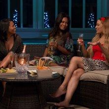 The Best Man Holiday: Nia Long con Monica Calhoun e Melissa De Sousa inuna scena