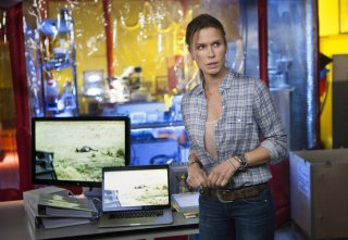 The Last Ship:Rhona Mitra nell'episodio Welcome to Gitmo