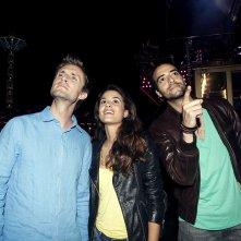 Babysitting: Tarek Boudali, Philippe Lacheau e Alice David in una scena del film