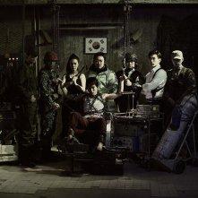 Il cast di One on One in una foto promozionale