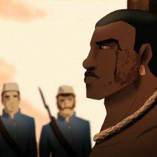 Rio 2096 - Una storia d'amore e furia: Abeguar in una scena del film animato