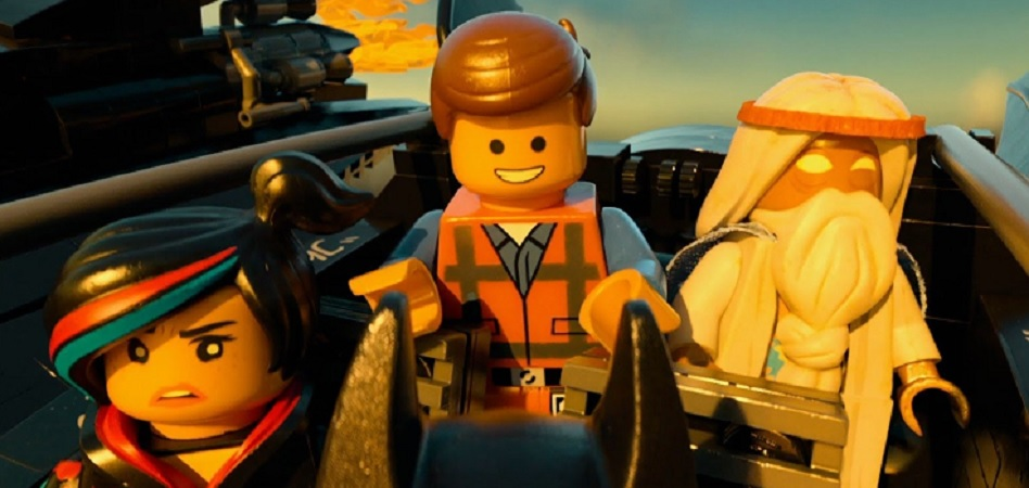 Una scena di The Lego Movie