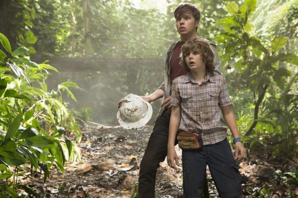 Jurassic World: i due giovani protagonisti Ty Simpkins e Nick Robinson