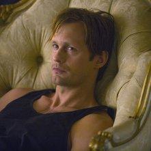 True Blood: Alexander Skarsgård in una scena dell'episodio I Found You