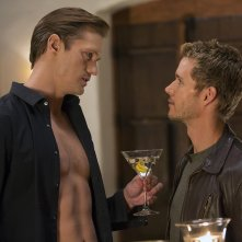 True Blood: Alexander Skarsgård e Ryan Kwanten nell'episodio I Found You