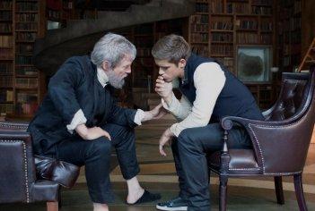 The Giver - Il mondo di Jonas: Jeff Bridges istruisce Brenton Thwaites