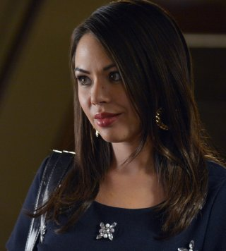 Pretty Little Liars: Janel Parrish in Surfing the Aftershocks