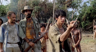 Cannibal Holocaust: una scena del film
