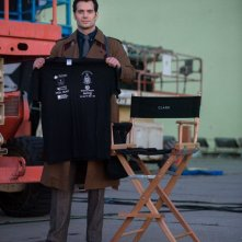 Batman v Superman: Dawn of Justice - Henry Cavill in modalità Clarke Kent