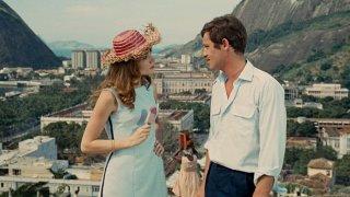 L'uomo di Rio: Jean-Paul Belmondo e Françoise Dorléac in una scena del film