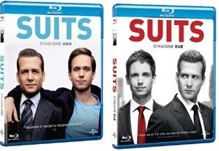 Le cover dei blu-ray di Suits