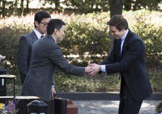 Halt and Catch Fire: Lee Pace, Han Soto e Scott Takeda nell'episodio Adventure