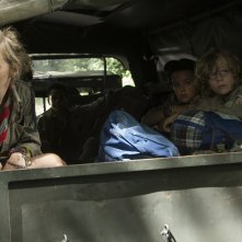 Cub: Evelien Bosmans in una scena dell'horror