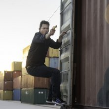 22 Jump Street: Channing Tatum in una scena d'azione del film
