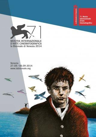 Venezia 2014: il manifesto ufficiale della 71. Mostra di Venezia