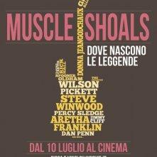 Locandina italiana di Muscle Shoals - Dove nascono le leggende