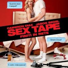 Sex Tape - Finiti in rete: la locandina italiana