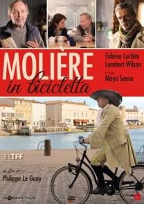 La cover del DVD di Moliere in bicicletta