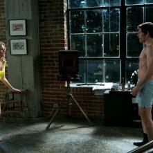 James Marsden con Elizabeth Banks in una scena di Una notte in giallo