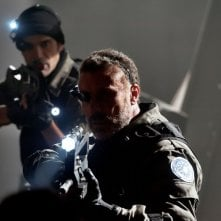 2047 - Sights of Death: Maio Opinato con Marco Bonini in una scena del film