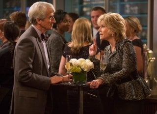 The Newsroom: Jane Fonda e Sam Waterstone