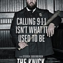 The Knick: Chris Sullivan in un manifesto promozionale della prima stagione