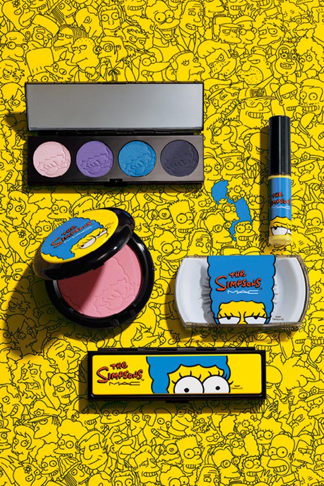 I Simpson, la linea per il make up di Marge Simpson, lanciata nel 2014