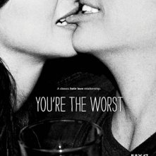 You're the Worst: la locandina della comedy, prima stagione