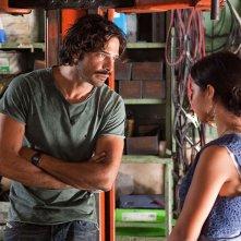 Io rom romantica: Marco Bocci con Claudia Ruza Djordjevic in una scena del film