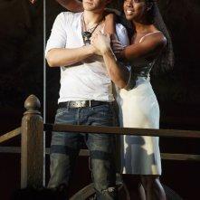 Romeo e Giulietta - Il musical da Broadway: Orlando Bloom con Condola Rashad in una scena