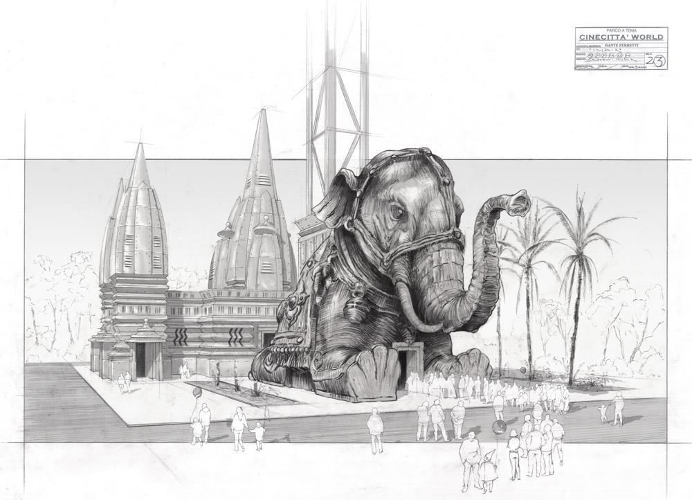 Cinecittà World - il progetto di una delle attrazioni del parco