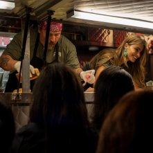 Chef - La ricetta perfetta: Jon Favreau, il piccolo Emjay Anthony e Sofia Vergara servono i clienti