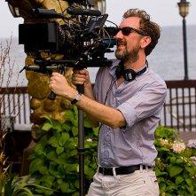 Begin Again - Tutto può cambiare: il regista John Carney in azione