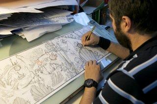 Winx Club - Il mistero degli abissi: un animatore al lavoro sui fondali del film