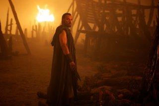 Hercules - Il Guerriero: Rufus Sewell nei panni di Autolico in una scena del film