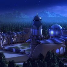 Una scena tratta dal film animato Winx Club - Il mistero degli abissi