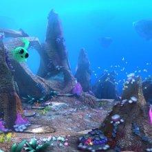 Una scena sottomarina tratta da Winx Club - Il mistero degli abissi