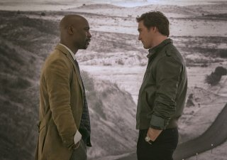 Halt and Catch Fire: D.B. Woodside e Lee Pace nell'episodio Giant