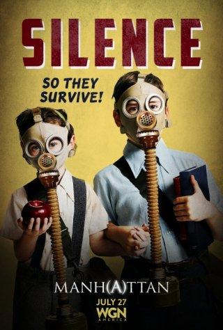 Manhattan: uno dei poster promozionali per la prima stagione