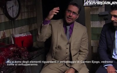 Intervista Esclusiva 'Frank Grillo e James DeMonaco' - Anarchia - La notte del giudizio