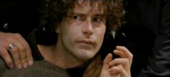Giulio Forges Davanzati in una scena del film Taglionetto