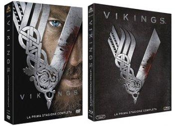Le cover homevideo di Vikings