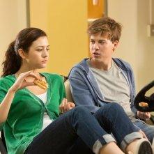 Io vengo ogni giorno: Gabrielle e Rob in una scena del film