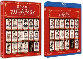 Le cover homevideo di Grand Budapest Hotel