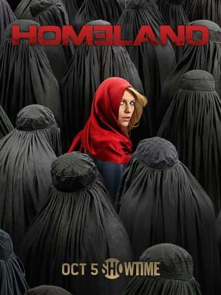 Homeland: il poster della stagione 4