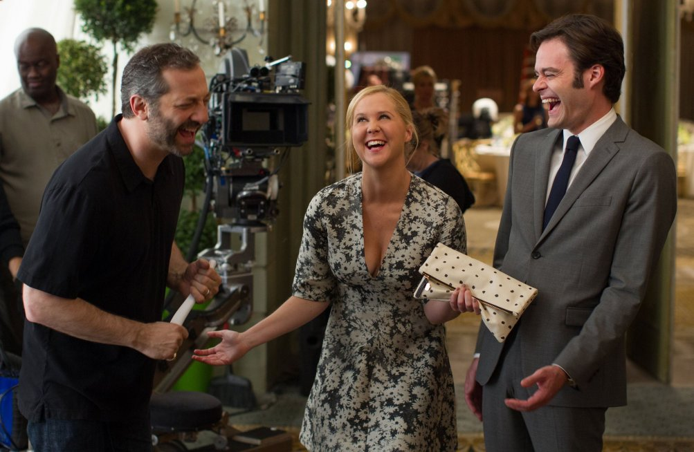 Un disastro di ragazza: Judd Apatow, Amy Schumer e Bill Hader se la ridono sul set