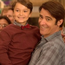 Extant: Pierce Gagnon e Goran Visnjic nell'episodio Wish You Were Here